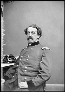 Major Anderson's second-in-command was Captain Abner Doubleday; the very same Abner Doubleday who is  often (though erroneously) credited with inventing the game of baseball.