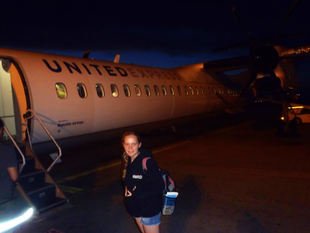 Boarding at Night